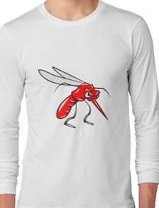 Mücke agro mosquito  Long Sleeve T-Shirt