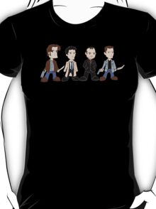 Sam, Dean, Castiel, Crowley T-Shirt