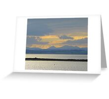 A Mellow Sunset Over Inch Island..................................Ireland Greeting Card