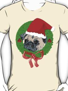 Christmas Pug T-Shirt