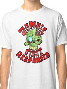 Zombie First Responder Volunteer Classic T-Shirt