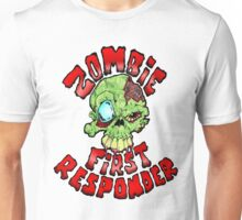 Zombie First Responder Volunteer Unisex T-Shirt