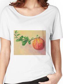 Pomegranate fruit still life Women's Relaxed Fit T-Shirt