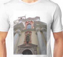 St Thomas the Apostle church, Prague, Czech Republic Unisex T-Shirt