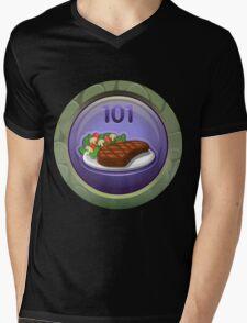 Glitch Achievement bonbon vivant Mens V-Neck T-Shirt