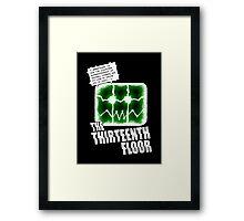 The Thirteenth Floor Framed Print