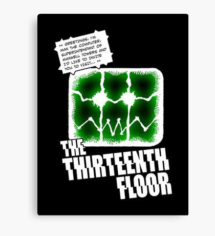 The Thirteenth Floor Canvas Print