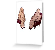 Five Pounds of Fat Greeting Card