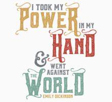 "Emily Dickinson: ""I took my power"" by Jenn Reese"