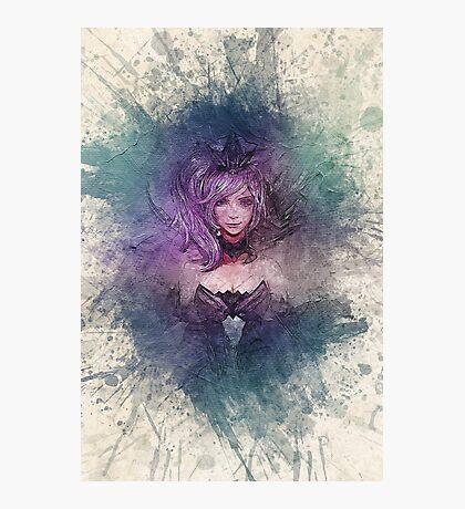 Elementalist Lux Dark Canvas  Photographic Print