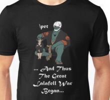 The Great Lalafell War Begins Unisex T-Shirt