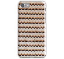 chevron pattern tile background iPhone Case/Skin