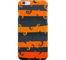 Stripes and swirls. Autumn colors. iPhone Case/Skin