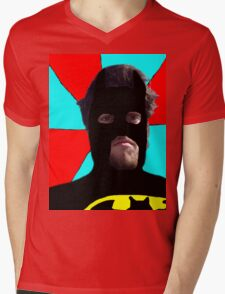 I'M BATMAN Mens V-Neck T-Shirt