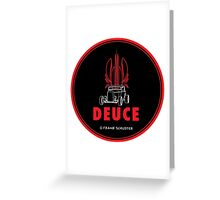 Ford Deuce Coupe Greeting Card