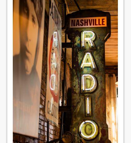 Radio Nashville Sticker