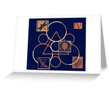 Coheed and Cambria II Greeting Card