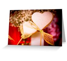 Heart shaped cookie Greeting Card