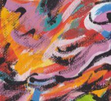 Vizsla Dog Bright colorful pop dog art Sticker