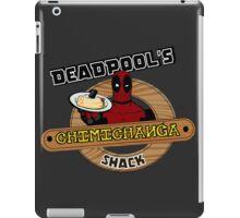 Deadpool's Chimichanga shack iPad Case/Skin