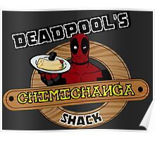 Deadpool's Chimichanga shack Poster