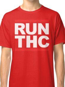 RUN THC (Parody) White Ink Classic T-Shirt
