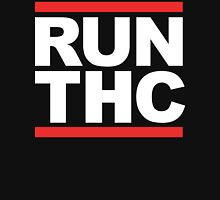 RUN THC (Parody) White Ink Unisex T-Shirt