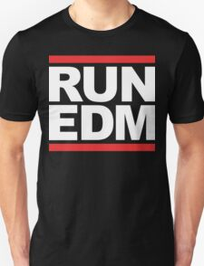 RUN EDM (Parody) White Ink T-Shirt