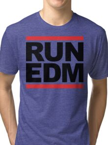 RUN EDM (Parody) Tri-blend T-Shirt