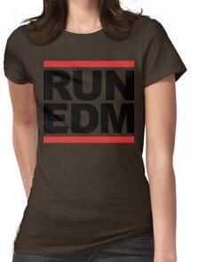 RUN EDM (Parody) Womens Fitted T-Shirt