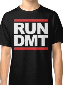 RUN DMT (Parody) White Ink Classic T-Shirt