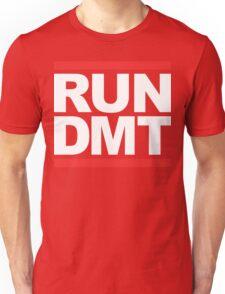 RUN DMT (Parody) White Ink Unisex T-Shirt