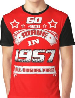 made in 1957 Graphic T-Shirt