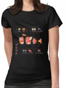 Cheep-Cheep Sushi Womens Fitted T-Shirt