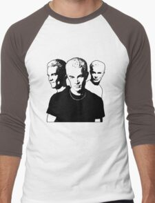 A Trio of Spike Men's Baseball ¾ T-Shirt