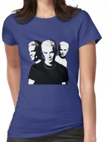 A Trio of Spike Womens Fitted T-Shirt
