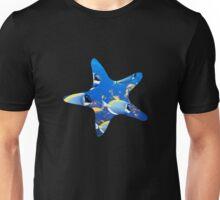 Starfish Silhouette with Fish Unisex T-Shirt