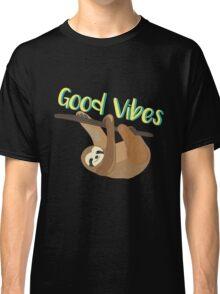 Sloth Good Vibes Classic T-Shirt