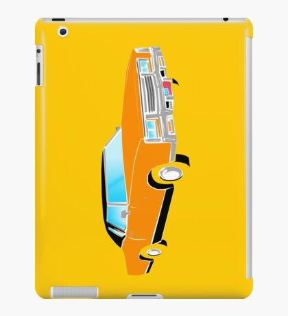 American Car - ORANGE iPad Case/Skin