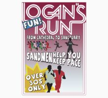 Logan's Fun Run - Parody Poster - Funny Reference to Classic Scifi Film T-Shirt
