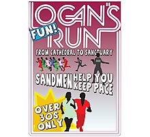 Logan's Fun Run - Parody Poster - Funny Reference to Classic Scifi Film Photographic Print