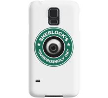 Sherlock's Coffee - Surprisingly OK! Samsung Galaxy Case/Skin