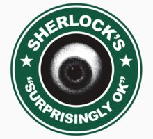 Sherlock's Coffee - Surprisingly OK! Kids Clothes