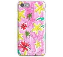 ALOHA! Hawaiian Floral Pattern iPhone Case/Skin