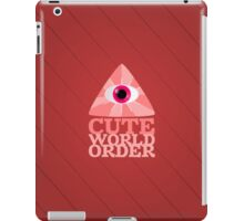 Cute World Order iPad Case/Skin