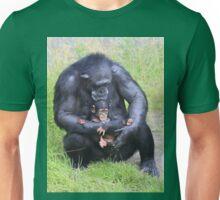 Chimpanzee and Baby Unisex T-Shirt