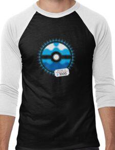 Dive Ball Men's Baseball ¾ T-Shirt