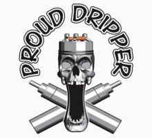 Proud Dripper: Vaper Skull by dxf1969