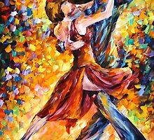 IN THE RHYTHM OF TANGO - Leonid Afremov by Leonid Afremov