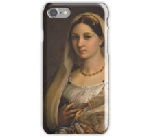 Woman With a Veil iPhone Case/Skin